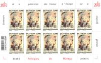 Monaco - Albert Einstein - Feuillet neuf