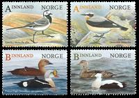 Norge - Fugle - Postfrisk sæt 4v