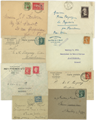 France - Letters etc. - Duplicate lot