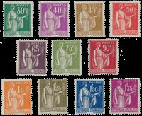 Frankrig - YT 280-289 - Postfrisk