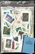 Iceland- Kiloware / Stamp mixture + Drying Book