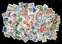 Danmark - 1200 forskellige frimærker