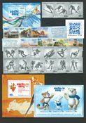 Rusland - Vinter OL Socchi og OL turistbyer - Ikke specificeret