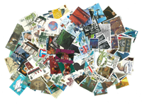 Great-Britain - Stamp packet - 1500 different