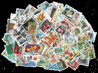 Îles Britanniques - Paquet de timbres - 500 diff