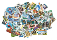 Guernsey - Stamp packet - 200 different