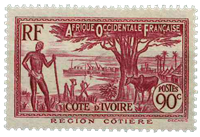 Côte d'Ivoire - Y&T 123