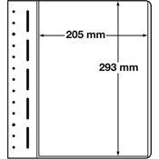 LEUCHTTURM feuilles neutres LB, 205x293 mm - paquet de 10