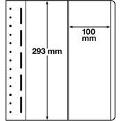 LEUCHTTURM feuilles neutres LB, 100x293 mm - paquet de 10