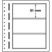 LEUCHTTURM feuilles neutres LB, 190x 81 mm - paquet de 10