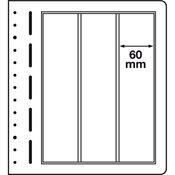 LEUCHTTURM feuilles neutres LB, 60x293 mm - paquet  de 10