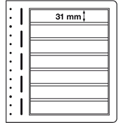 Lighthouse / Leuchtturm LB-Blank sheets, 190x 31 mm - pack of 10