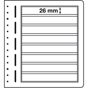 Lighthouse / Leuchtturm LB-Blank sheets, 190 x 26 mm - pack of 10