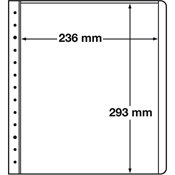LEUCHTTURM feuilles neutres LB, 236x293 mm - paquet de 10