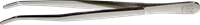 Pincette 21, Standard, 12 cm, modèle : angulaire, pointu