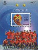 Spanien - Håndbold vindere - Postfrisk miniark