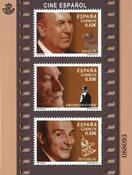 Spanien - Filmhistorie - Postfrisk miniark