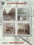 Spanien - Moderne kunst - Postfrisk miniark