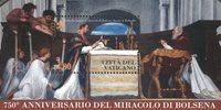 Vatican - 750 ans Miracle Bolséna - Bloc-feuillet neuf