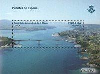 Spanien - Spaniens broer Los Santos - Postfrisk miniark
