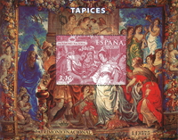 Espagne - Tapisserie - Le mariage d'Odona - Bloc-feuillet neuf