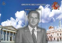 Espagne - Adolfo Suarez - Bloc-feuillet neuf