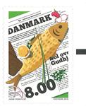 Danmark - Sol over Gudhjem - Postfrisk frimærke