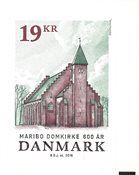 Danemark - Cathédrale de Maribo - Timbre neuf