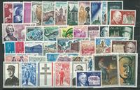 Frankrig - Årgang 1971 - Postfrisk