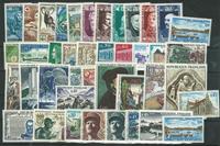France - Année 1969 - 40 timbres