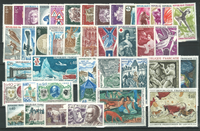 Frankrig - Årgang 1968 - Postfrisk