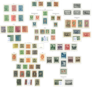 Liechtenstein - Collection in KABE-pre-printed alb - ums 1912-1992