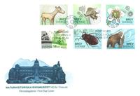 Suède - Musée d'histoire naturelle - Env.premier jour