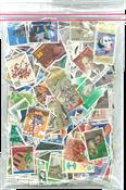 Japon - Timbres au kilo - Commémoratifs sans papier - 100 gr.