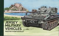 Jersey - Véhicules milistaires - Carnet de prestige neuf