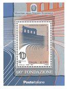 Italien - Verona opera - Postfrisk miniark