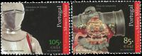 Portugal - Militærmuseum - Postfrisk sæt 2v