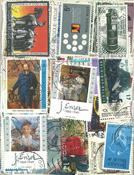 266枚不同比利时早期大幅票信销票