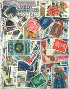 410枚不同英国信销票 70年代的邮票