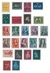 Netherlands 1943-44 - NVPH 404-427 - Mint