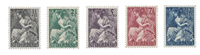 Holland 1946 - NVPH 449/53 - Postfrisk