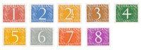 Holland 1946/57 - NVPH 460/68 - Postfrisk