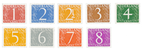 Holland 1946/57 - NVPH 460/68 - Postfrisk