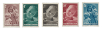 Holland 1947 - NVPH 495/99 - Postfrisk