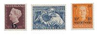 Holland 1950/53 - NVPH 549,582,601 - Postfrisk