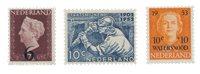 Nederland 1950/53 - Nr. 549,582,601 - Postfris