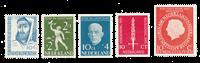 Nederland 1954/55 - Nr. 646/48, 654, 660 - Postfris