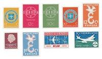 Holland 1958/59 - NVPH 712/14, 720/21, 727/30- Postfrisk