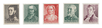 Holland 1941 - NVPH 392/96 - Postfrisk