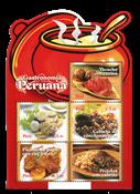 Pérou - Bloc Gastronomie - Bloc-feuillet neuf